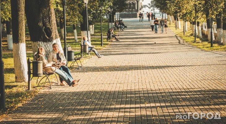 Погода на выходные в Кирове: потеплеет с -2 до +20