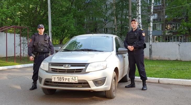 В Кирове сотрудники Росгвардии нашли 3-летнего ребенка