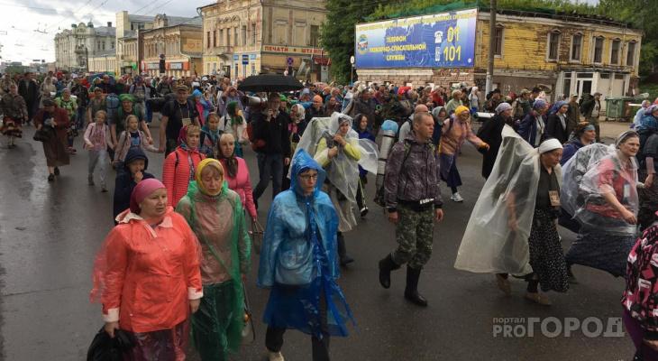 Фоторепортаж: паломники отправились в Великорецкий крестный ход