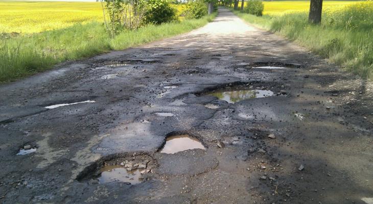 Состояние и безопасность кировских дорог оценено чуть-чуть лучше нуля