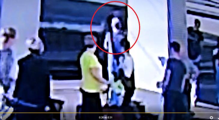Появилось видео спасения ребенка из-под поезда на кировском вокзале