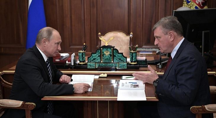 """Губернатор Кировской области не сможет связаться с Путиным во время """"Прямой линии"""""""