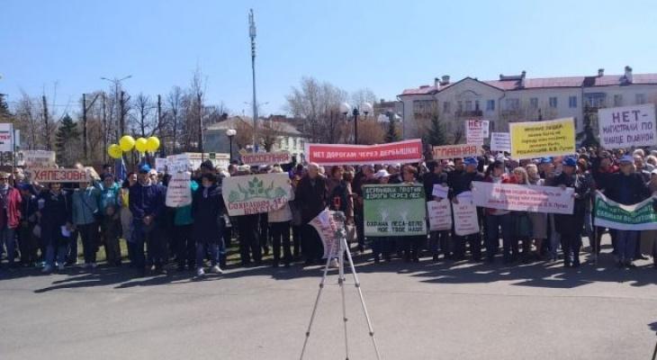 В Слободском пройдет митинг против полигона ТБО в Осинцах