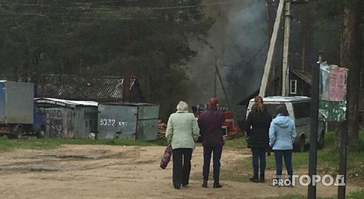 В Дороничах в пожаре погиб молодой мужчина