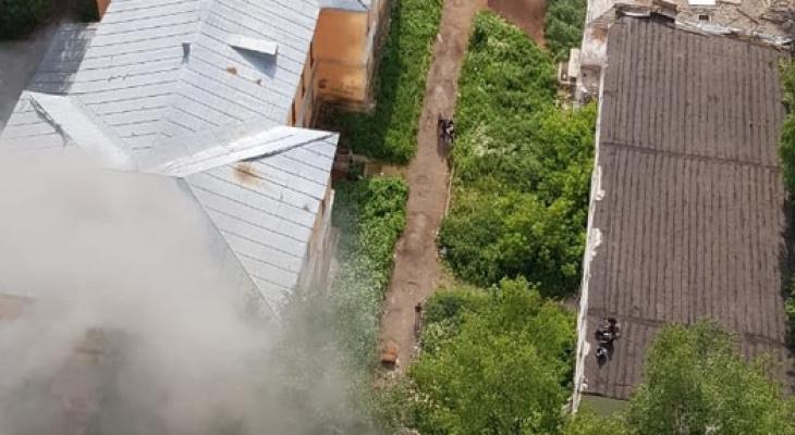 Ветхие постройки в сквере «Алые паруса» снесут
