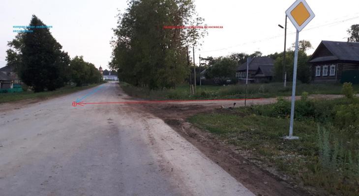 Появилась подробная информация о ДТП в Уржумском районе, где насмерть сбили ребенка