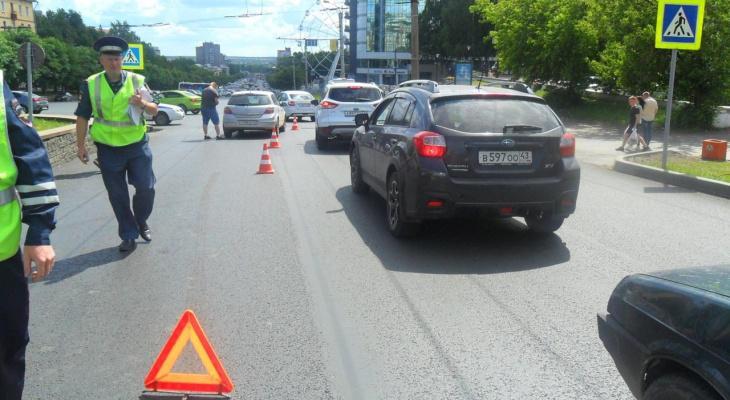 В ГИБДД рассказали, сколько детей пострадали в авариях в Кировской области