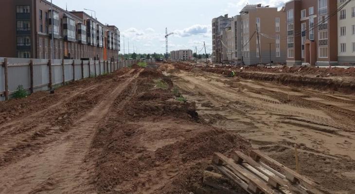 В Кирове проверили строительство четырех улиц
