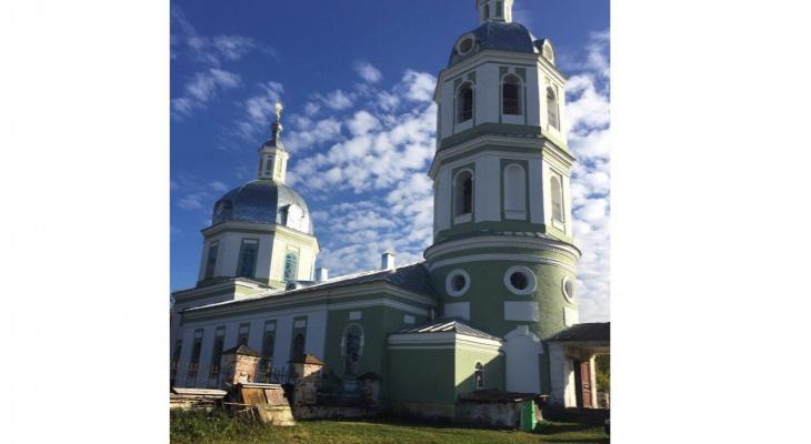 В Истобенске восстанавливают 200-летний храм