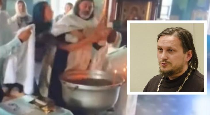 «Крестить нужно раньше, когда ребенок не болтает руками и ногами»: священник о грубом крещении мальчика в Гатчине