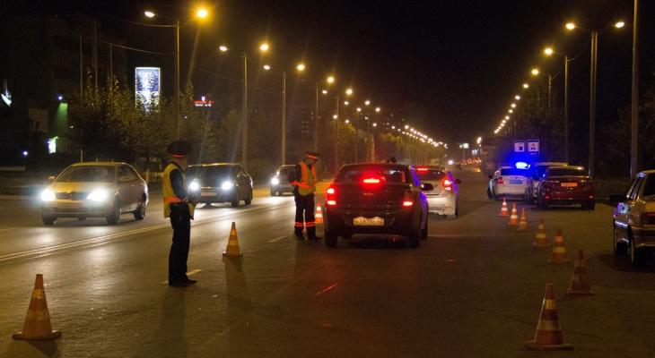 За три дня в Кировской области задержали 54 нетрезвых водителя