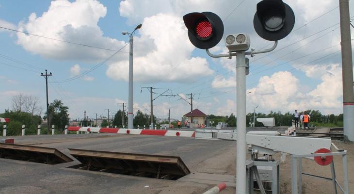 В Нововятске переезд закрывают на ремонт