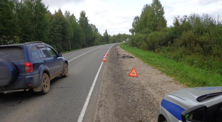 Смертельное ДТП в Кирове: мужчина на «Мерседесе» сбил велосипедиста