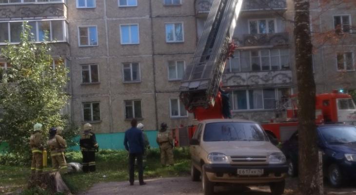 В Кирове спасатели сняли с крыши 5-летнего ребенка