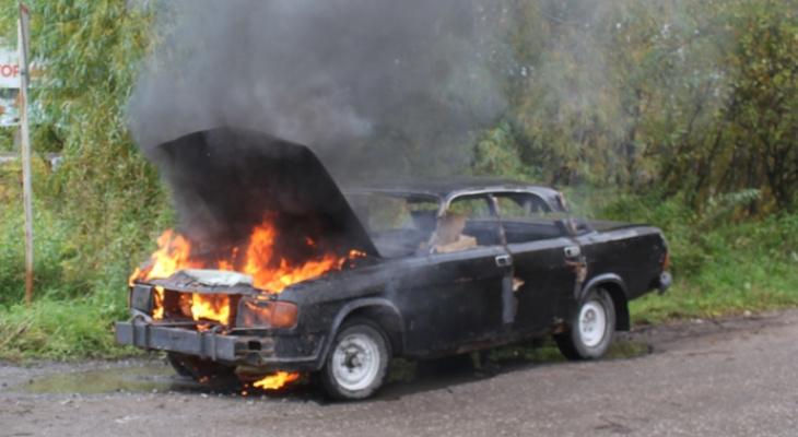 В Кировской области пожарные не успели на вызов из-за пробки на мосту