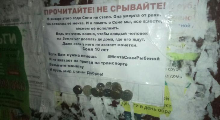 Кировчане присоединились к флешмобу в память о девочке, умершей от рака
