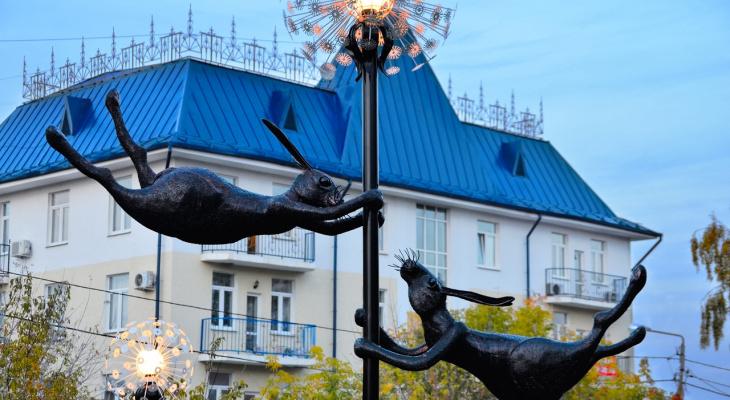 Фоторепортаж: 18 новых арт-объектов и фонтанов на улицах Кирова