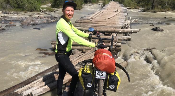 """""""На леднике высотой 4400 метров у нас закончилась еда"""": история путешествия на Алтай на велосипеде"""