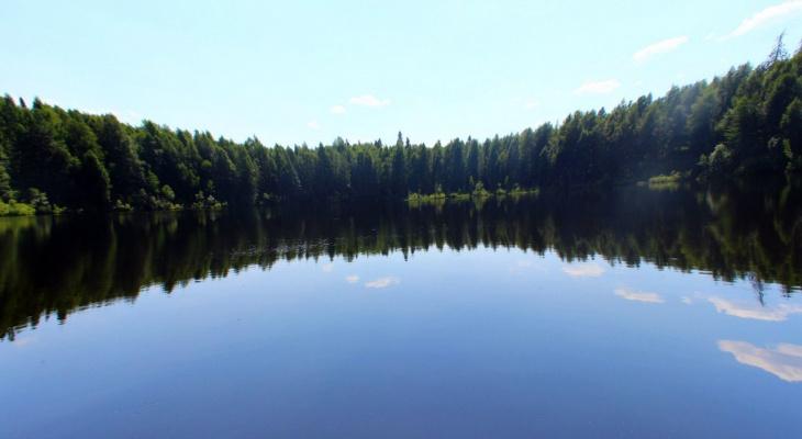 Озеро в Кировской области вошло в топ-10 аномальных мест России