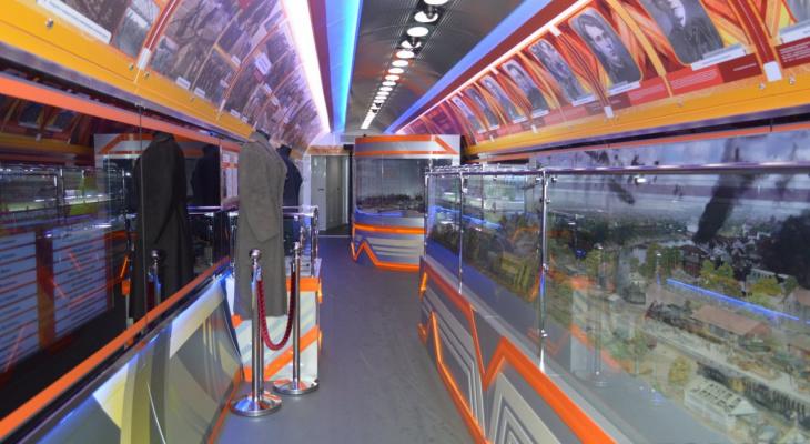 9 вагонов – выставочных залов: в Киров приедет поезд-музей