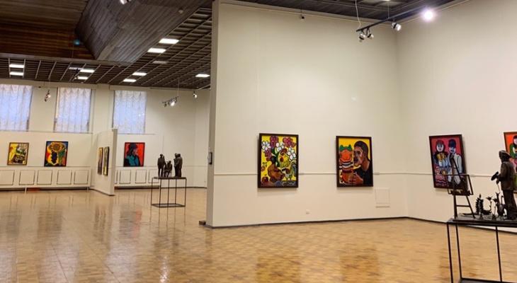 Кировчане могут посетить выставку работ Церетели