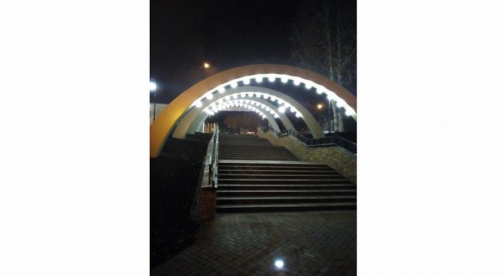 Фото дня: набережная в Нововятске готовится к открытию