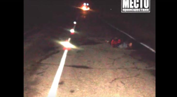 Полиция нашла виновника аварии, который оставил пешехода умирать на дороге