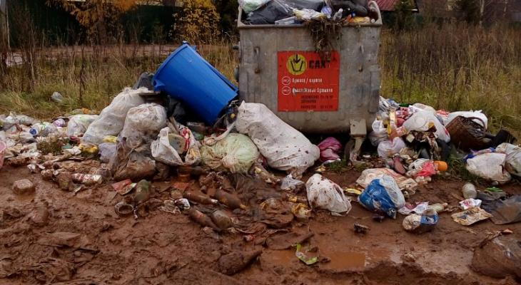 Переполненные урны и баки: подборка жалоб кировчан о самых грязных местах в городе