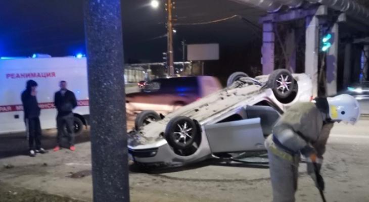 За выходные в Кирове на одном перекрестке произошло 3 ДТП: пострадали 6 человек
