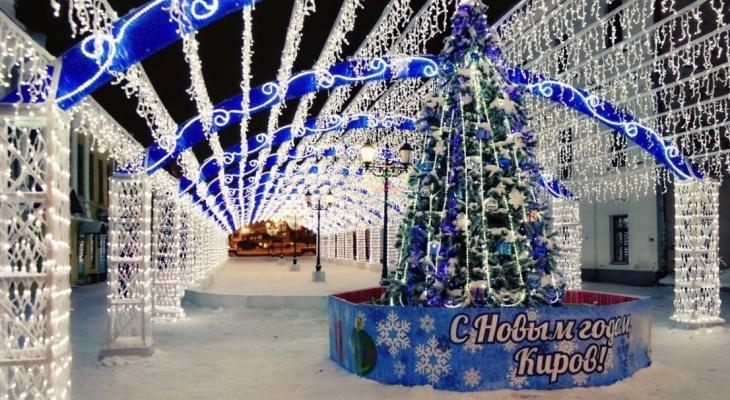 Дымка и кружево: в Кирове утвердили стандарт новогоднего оформления