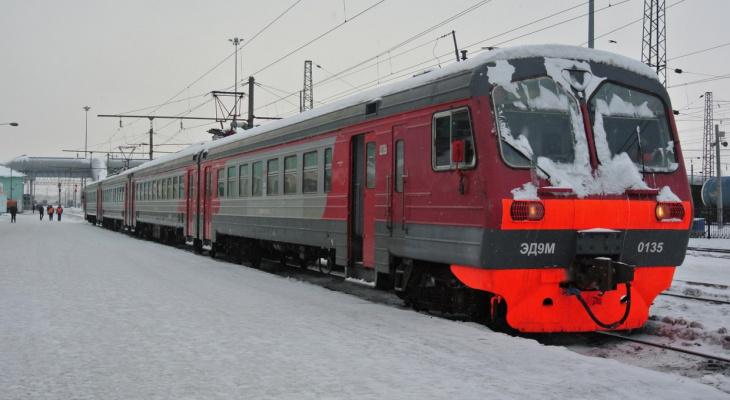 В Кировской области отменят несколько остановок электричек на зиму