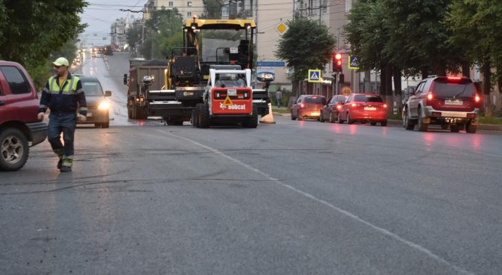 Известен список дорог в Кирове, которые отремонтируют в 2020 году