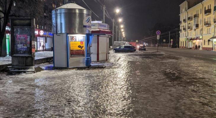Травмы и аварии: что случилось на дорогах Кировской области из-за гололеда