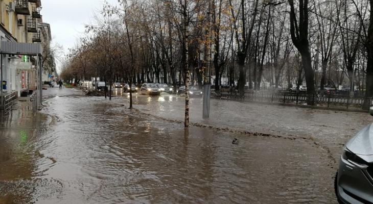 В Кирове выпало рекордное за 109 лет количество осадков