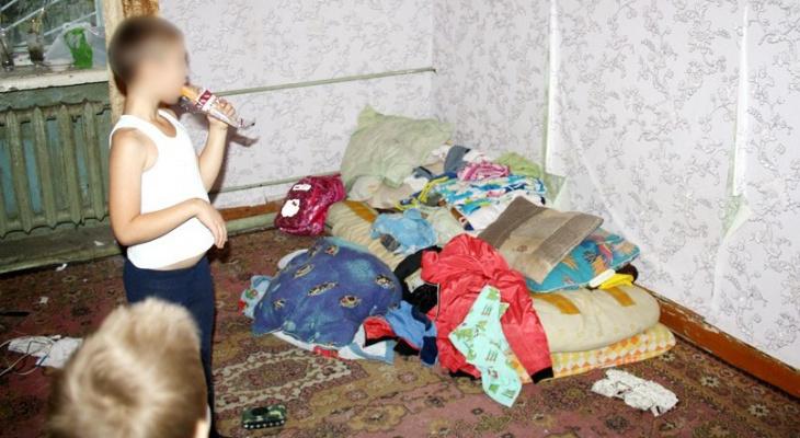 У родителей из Даровского района отобрали пятерых детей