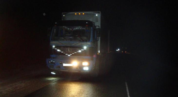 В Слободском районе водитель грузовика на обочине сбил пешехода