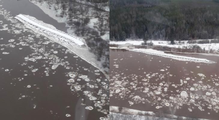 Мост уплыл на 1,5 километра: как в Кировской области справляются с последствиями внезапного паводка
