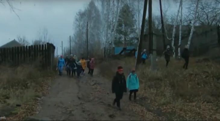Автобус будет: проблему с дорогой до школы через лес и кладбище в Красной Поляне решат