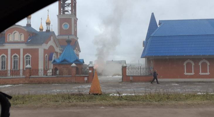 Пожар в церкви: известно, что на самом деле произошло у храма на Филейке