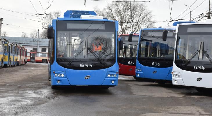 Мэрия Кирова сообщила, когда горожане увидят новые троллейбусы
