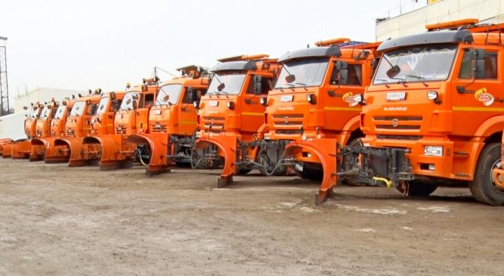 Новые снегоуборочные машины приедут в Киров до конца года