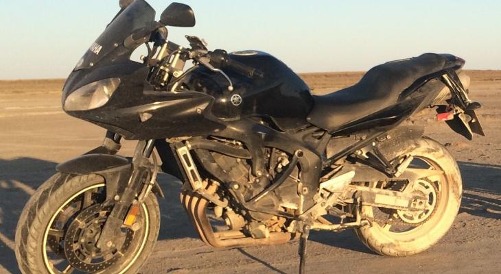 Внимание, розыск: в Кирове из гаража украли мотоцикл Yamaha и экипировку к нему