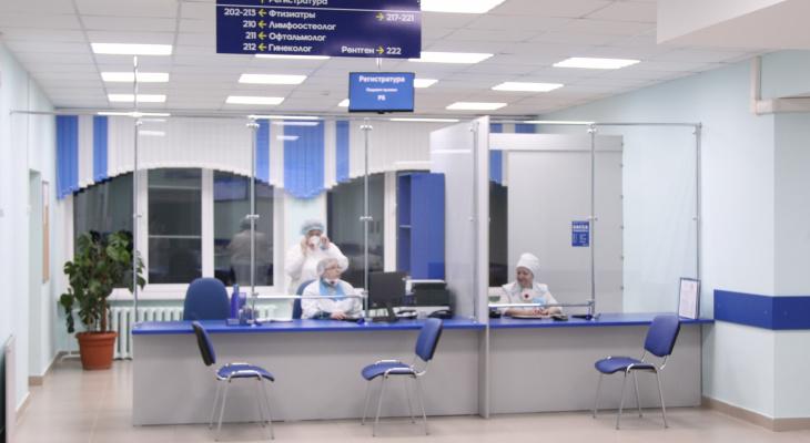В Кирове провели капитальный ремонт в поликлинике областного противотуберкулезного диспансера