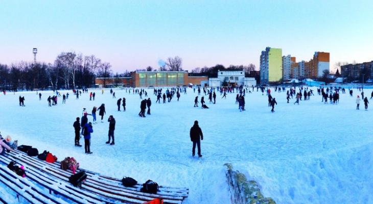 Катки в Кирове: 13 мест для любимого зимнего развлечения