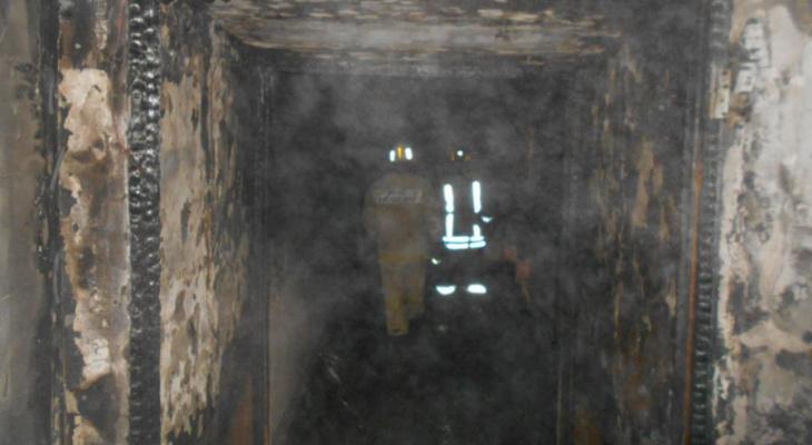 Пожар в доме на Воровского: пострадали женщина и ребенок