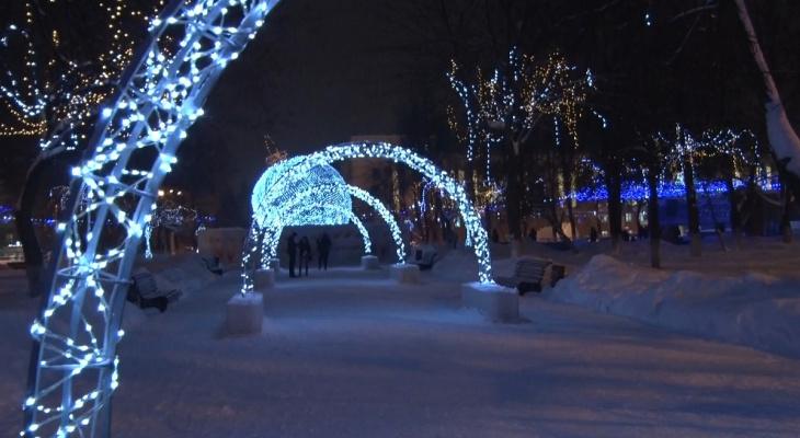 В 2020 году расходы на оформление Кирова в Новый год хотят сократить в 2 раза