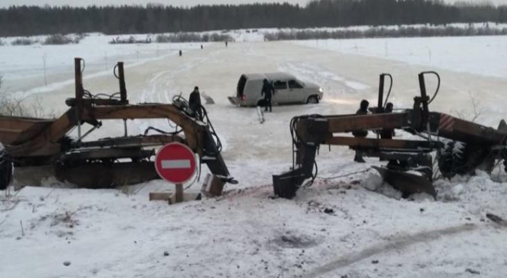 Кировские шубы за 12 миллионов рублей вытащили из реки в Архангельской области