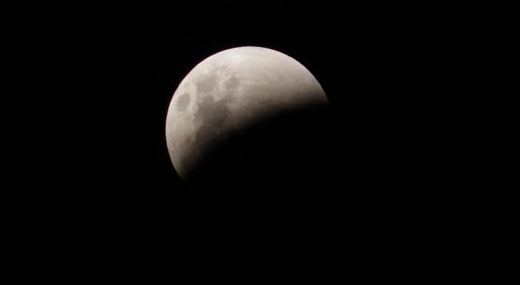 Кировчане смогут наблюдать лунное затмение