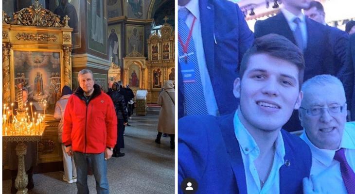 Селфи с Жириновским и песни с императрицей: что публикуют кировские политики в соцсетях