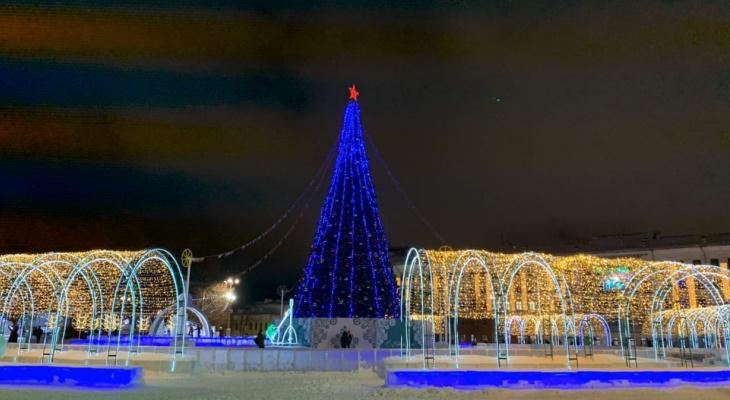 Известно, как долго простоит ледовый городок на Театральной площади